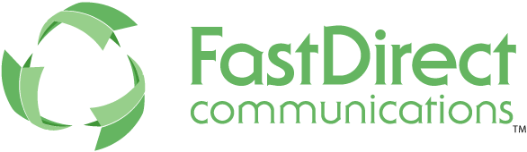 FastDirect Communications Sticky Logo Retina