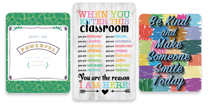 image about Free Printable Classroom Posters titled Absolutely free Clroom Posters: Inspirational absolutely free printables